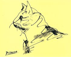 Cat sketch, Picasso, via liveinternet. Crazy Cat Lady, Crazy Cats, Picasso Sketches, Cat Sketch, Pablo Picasso, Cat Art, Painting Inspiration, Screen Printing, Watercolor Paintings