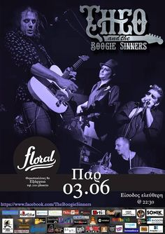 Theo & the Boogie Sinners live @ Floral