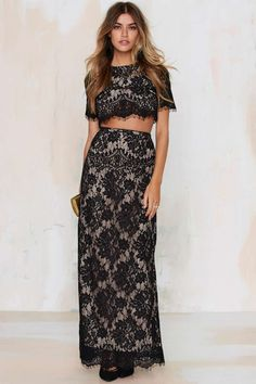 The Jetset Diaries Lace of Base Maxi Skirt | Shop Clothes at Nasty Gal!