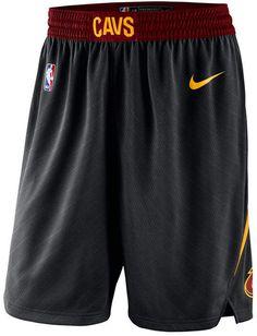 Nike Men s Cleveland Cavaliers Statement Swingman Shorts Black Nikes 25d6db067913