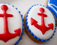 Denizci Temalı Kurabiye Modelleri