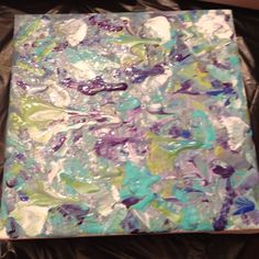 DIY Canvas Painting...going to let Kay do some for around the house
