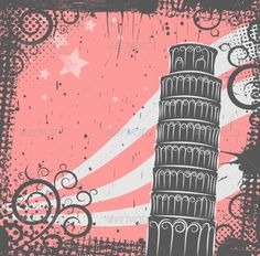 Tower of Pisa Background