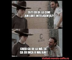 Out standing in his field ! - Coral - Humor Me - The Walking Dead Carl Memes Walking Dead Funny, Walking Dad Jokes, Walking Dead Coral, Walking Dead Clothes, The Walking Dad, Twd Memes, Mega Sena, Reality Shows, Rick Y