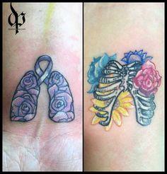 69 roses | Cystic Fibrosis | MrDavidPoe | Tattoo Artist | Austin, TX