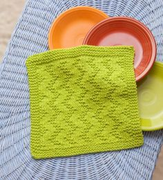 "What would you create with 365 knitting-stitch patterns? Learn to transform them into original designs of your own with today's lessons on gauge, multiples, and borders. Start by turning this free ""ZigZag"" stitch pattern into a dishcloth—it's easier than you might think!"