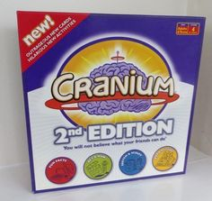 Cranium 2nd Edition Board Game - Boxed & Complete - Family Party Fun