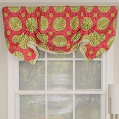 "Canne Handkerchief 50"" Curtain Valance 