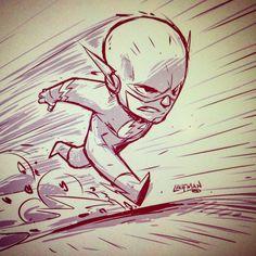 The Flash! by DerekLaufman.deviantart.com on @DeviantArt
