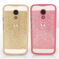 Luxury Bling Glitter Hard PC Protective Case Cover For Motorola Moto G 2nd Gen