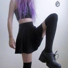 I like dark clothes and you | via Tumblr