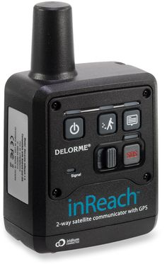 DeLorme inReach 2-Way Satellite Communicator for Apple iOS and Android.