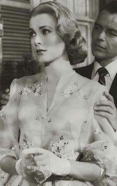 Grace Kelly & Frank Sinatra 1956, fron the movie High Society