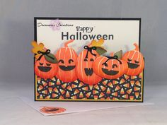 Halloween card made with high quality Stampin' Up products. on Etsy, $4.50
