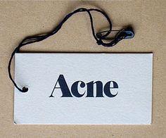Acne swing tag