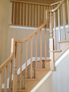 Best Wood Rail With Detail Metal Spindles Stairs Railings 400 x 300