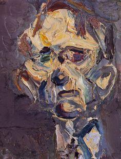 Frank Auerbach - Head of Michael Podro, 1981