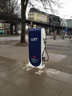 """Liebe Fahrradfreunde, an den #Landungsbrücken gibt's ein LuftStation!""@RadwegH"