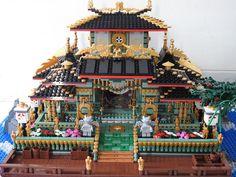 Star Wars Boba Fett, Star Wars Clone Wars, Star Wars Art, Lego Star Wars, Star Trek, Lego Architecture, Chinese Architecture, Lego Display, Lego Castle