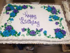 Bile Purple Roses Brenda Shirey My Giant Eagle Cakes