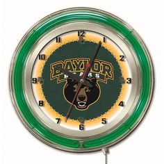 Use this Exclusive coupon code: PINFIVE to receive an additional 5% off the Baylor University Bears 19 Inch Neon Logo Clock at SportsFansPlus.com