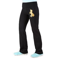Unicorn Yoga Pants | ThinkGeek You need to change your pants sometimes! But not your shirt. You only get one shirt.