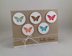 Stampin' Up! new In Colors, Hello There, Happy Day stamp set