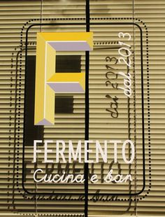 Fermento Restaurant design and made by RPM Proget