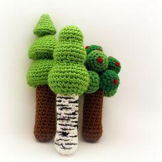 Crochet For Free: Three Tree Rattles ($$)