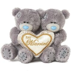 Just Married Me to You Bears Wedding Teddy Bears