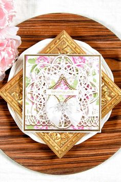 Create an All Occasion Layered Card with Amazing Paper Grace Dies Let Yana Smakula show you how with a video tutorial.