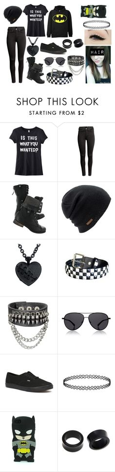 """""""Is this what you wanted?"""" by abipatterson ❤ liked on Polyvore featuring H&M, Coal, The Row, Anatomy Of, Vans and NOVICA"""