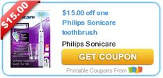 Tri Cities On A Dime: SAVE $15.00 ON PHILIPS SONICARE TOOTHBRUSH