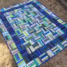 String Thing Along: Three quilts and a million pieces