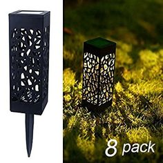 Maggift 8 Pcs Solar Powered LED Garden Lights, Automatic Led for Patio, Yard and Garden * Check this awesome product by going to the link at the image. (This is an affiliate link)
