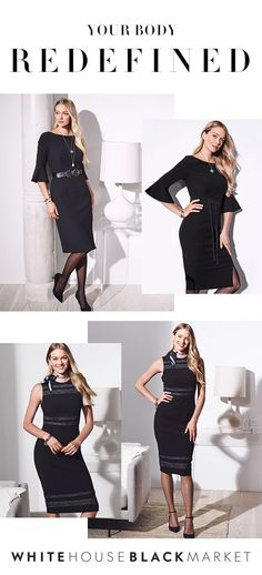 Define your curves with the Body Perfecting Collection. These dresses bring out the best in every body,  thanks to a stretch fabric that controls and smoothes in all the right places. You will want this dress for work and every occasion in between...we promise.