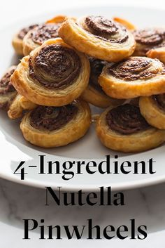 How to Make Nutella Pinwheels