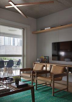 Casa de Valentia; decoração; projeto; apartamento; carioca; home theater