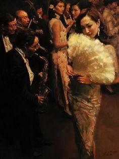 Chen Yifei [陈逸飞] ~ Chinese Romantic Realist painter | Tutt'Art@ | Pittura * Scultura * Poesia * Musica |