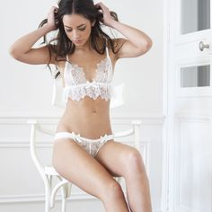 94d83e9368 Bridal   Wedding Lingerie · These lovely French lace knickers