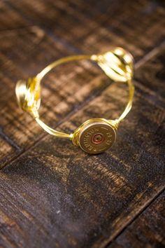 12 Guage Shotgun Shell Bracelet on BourbonandBoots.com #bulletjewelry #bulletbracelet #thesouth