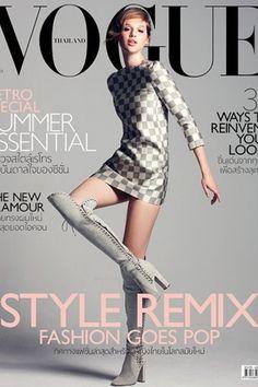 Vogue Thailand | Cover Model Anaïs Pouliot | Folio Montréal