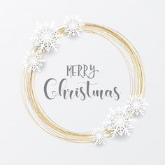 Elegant christmas with gold circular frame and snowflakes Free Vector Christmas Images Hd, Merry Christmas Pictures, Merry Christmas Images, Christmas Tale, Elegant Christmas, Christmas Quotes, Christmas Greetings, Christmas Topper, Christmas Ornaments