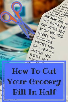 How to Cut your Grocery Budget in Half - Reduce Your Grocery Spending with the easy frugal changes! #budget #finance #healthyeating