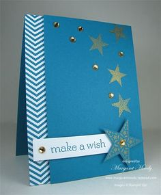 "birthday star card ""make a wish"""