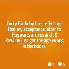 Either she got it wrong or my owl got lost - 19 Real Thoughts Harry Potter Fans Actually Have