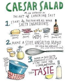 Learn to Cook Without Recipes from Samin Nosrat, Author of the Salt, Fat, Acid, Heat Cookbook - Chowhound Fresh Salad Recipes, Pasta Salad Recipes, Easy Cooking, Cooking Tips, Food Tips, How To Make Mayonnaise, Eat Your Books, Drink Recipe Book, Salads For A Crowd