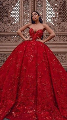 Red Ball Gowns, Ball Gowns Evening, Red Gowns, Ball Gowns Prom, Ball Gown Dresses, Prom Dresses, Bridesmaid Gowns, Formal Dresses, Pretty Dresses