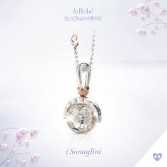 I Sonaglini di leBebé Suonamore, i gioielli per le mamme in attesa. Scopri la versione in argento, con cuoricino placcato in oro rosa a contrasto e catena in argento. :) http://www.lebebe.eu/it/prodotto/i_sonaglini_argento #fieradiesseremamma #lebebé #suonamore #gioielli #chiamaangeli