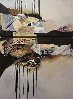 Billboard 8, 120116 by Carol Nelson mixed media ~ 32 inches x 24 inches